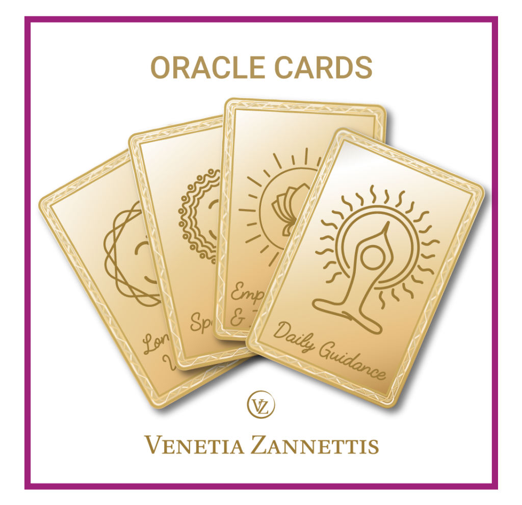 oracle cards by venetia zannettis